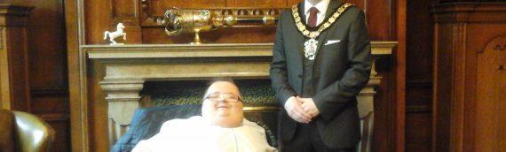 Congratulations Cllr Lewis, Mayor Rhondda Cynon Taff