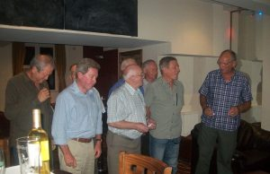 Croeseo Singers Performing in Charity Quiz