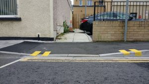 Everyday access dropped kerbs