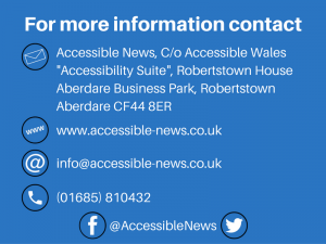 Accessible News Contact Details