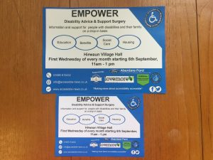Leaflets and Posters For Empower