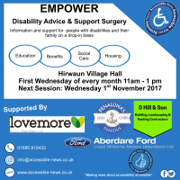 Next Session Wednesday 1st November 2017 in Hirwaun Village Hall (11am - 1pm)