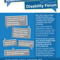 RCT Disability Forum Flyer
