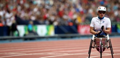Paralympian Sammi Kinghorn