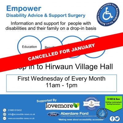 January Empower Cancelled