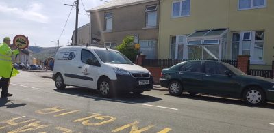 A picture of RCT Parking Enforcement Van