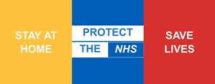 Stay home | Protect Our NHS | Save Lives