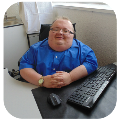 Richard Jones, founder of Accessible News