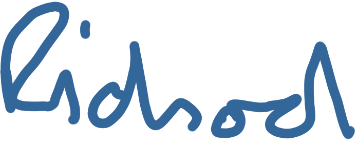 Richard's signature
